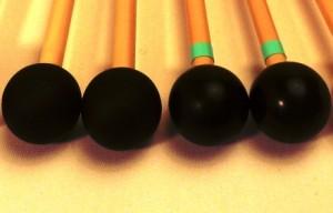 baguette de xylophone didier lacroix x4 et x4Tcaoutchouc dur ou médium