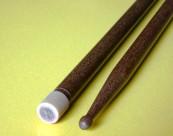 Baguettes de caisse claire en bois du brésil embout caoutchouc CBM