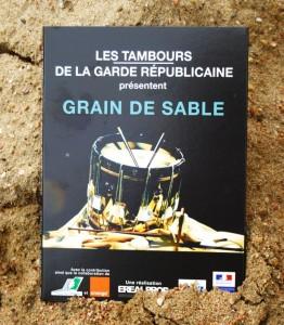 """DVD """"grain de sable"""" spectacle  de Tambour proposé par la garde Républicaine"""
