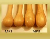 Baguettes de multi percussion Manche Bois de hêtre  MP1 et MP3