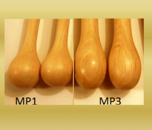 baguettes de Multi percussions MP1 et MP3