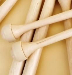 Baguettes de multi percussion bois de hêtre avec manchon MP2