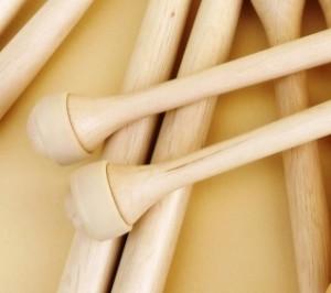 baguette de multi percussions bois de charme embout caoutchouc MP2