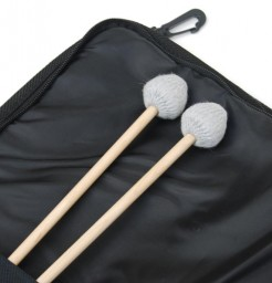 Etude vibra marimba tête jazz chorus paire de baguette manche rotin + sac