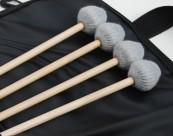 Etude Vibra Marimba jeu de 4 baguettes manches bois + Sac