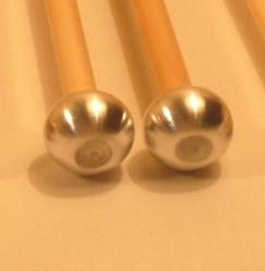 Baguettes de Glockenspiel Tête Aluminium 18 mm