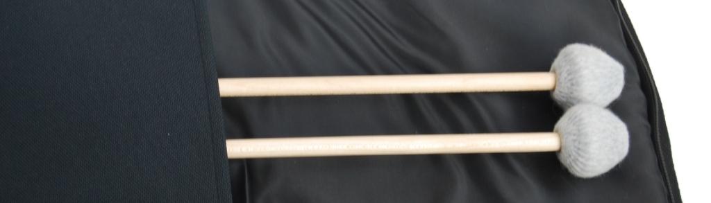 paire + sac baguette d etude vibra marimba