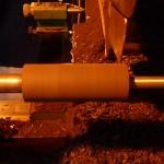 fabrication de baguettes de xylophone  en ébène